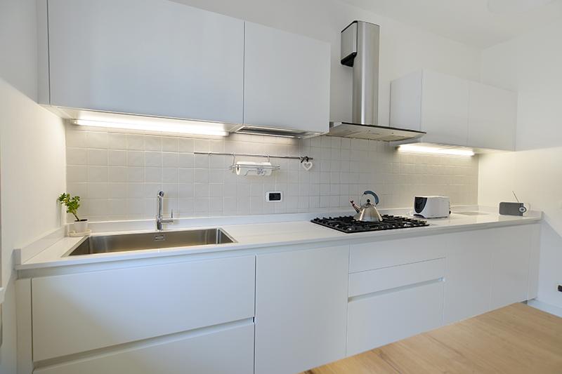 Arredo cucina in abitazione privata belluno for Ambient arredo sappada