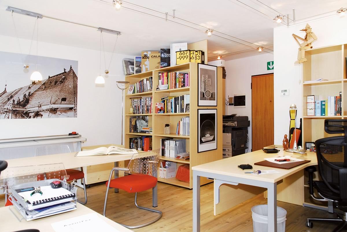 Architetto siorpaes cortina d 39 ampezzo bl arredamento for Ufficio architetto design